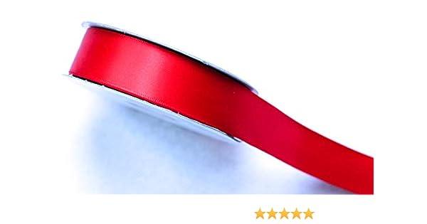 Cinta de sat/én de doble cara de 25 m y 25 mm para decoraci/ón o regalo CaPiSo/®
