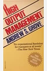High Output Management Mass Market Paperback