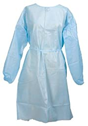 McKesson 38041100 Medi-pak Performance Fluid-resistant White Adult Gown , 50 Per Case