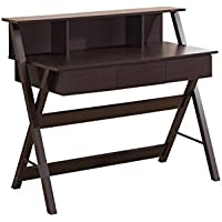 TECHNI MOBILI Writing Desk with Storage - Wenge