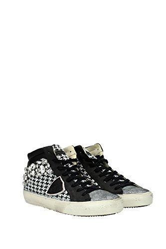 MDHDDT01 Philippe Model Sneakers Mujer Tejido Negro Negro