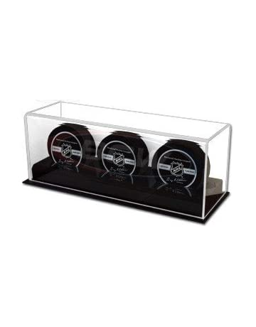 Free Shipping! Bcw Puck Holders Fashionable Clear Acrylic Stackable Display Cases Style; 42 In