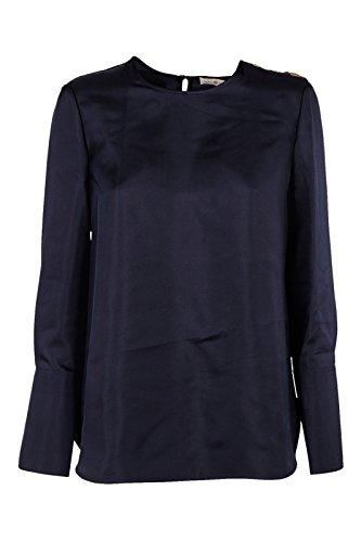 Tory Burch Women's Shirt Long Sleeve Blouse Blu