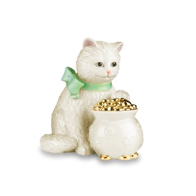 Lenox Porcelian Little Irish Kitty Figurine