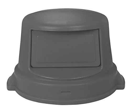 - Continental Commercial 3232GY Snap-On Receptacle Dome Top for 32 gal Huskee Container, 22