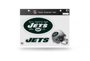 Rico Industries NFL New York Jets Die Cut Team Magnet Set Sheet ()