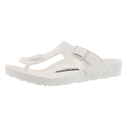 Birkenstock Girls' Gizeh EVA Thong Sandal - Narrow White 33 N EU