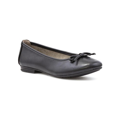 Black Ballerina Soft Line Black Womens Bow qxP61w