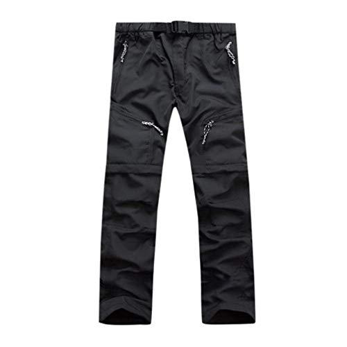Lannister Fashion Pantalones Largos para Hombres Pantalones Vaqueros Desmontables Hombres para Pantalones Ropa Basicas Deportiva Pantalones Deportivos Pantalones Deportivos Negro