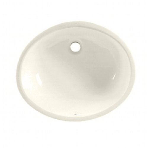 Undermount Bathroom Sink Linen - American Standard 496221.222 Ovalyn Ceramic Undermount Oval Bathroom sink, 19.6
