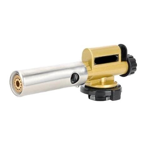 Soldador Soplete Pistola Gas Butano Llama Soldadura Cobre Acero Herramienta: Amazon.es: Juguetes y juegos