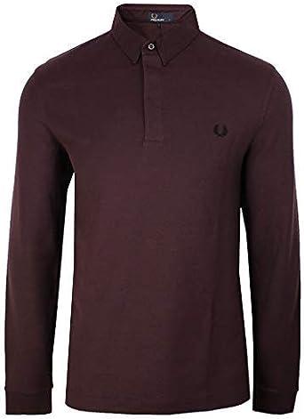 Fred Perry - Camisa casual - para hombre marrón XS: Amazon.es ...