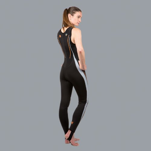 New Women's (Size 8/X-Small) LavaCore Trilaminate Polytherm Sleeveless Jumpsuit for Scuba Diving, Surfing, Kayaking, Rafting, Paddling & Many Other WaterSports