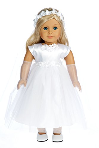 American Girl Doll Clothes Communion Dress