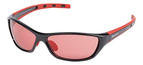 Demon Kansas, lunettes Cyclisme fotocromatici unisex-adulto, noir/rouge, 140/43/120mm