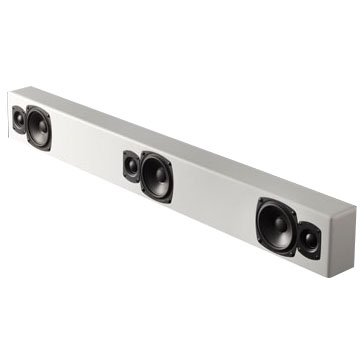 M&K Sound MP9-WHT On-Wall Soundbar System - White