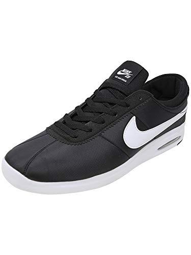 NIKE SB AIR Max Bruin VPR TXT Mens Fashion-Sneakers AA4257-001_12 - Black/White-White-Black ()