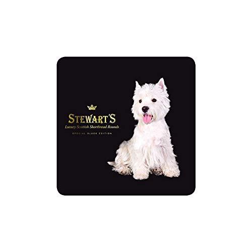 Stewart's Luxury Scottish Shortbread Rounds, Westie, 4.4 Ounce