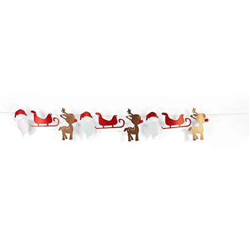 CLOSEOUT Christmas Glitter Banner