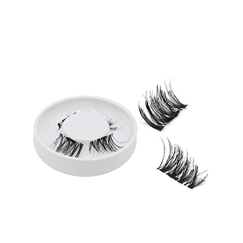 - Magnetic Eyelashes False Eyelashes On Magnets Reusable 3D Magnetic Extension Fake Eye Lashes,008