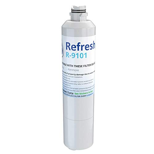 Replacement For Samsung RH22H9010SR Refrigerator Water Filter - by Refresh