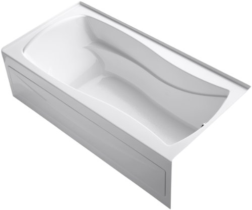 KOHLER K-1259-RA-0 Mariposa 6-Foot Bath, White