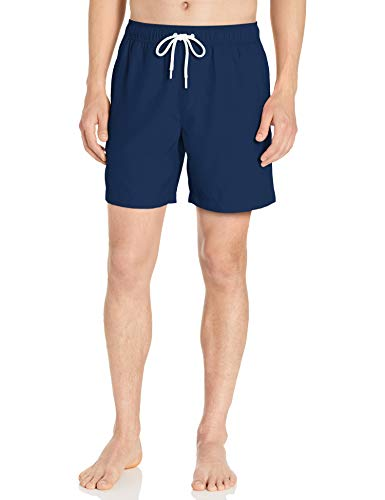 Amazon Essentials Herren Badehose 17,8 cm, Navy, US M (EU M)
