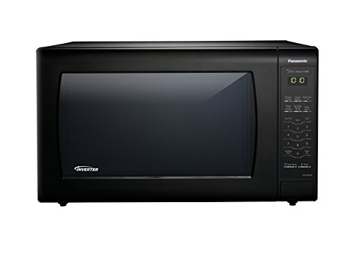 Panasonic Microwave Oven NN-SN936B Black Countertop with Inverter Technology and Genius Sensor, 2.2 Cu. Ft, 1250W (Microwaves Panasonic Genius)