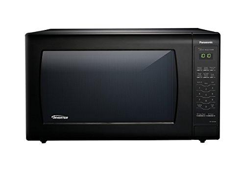 - Panasonic Microwave Oven NN-SN936B Black Countertop with Inverter Technology and Genius Sensor, 2.2 Cu. Ft, 1250W