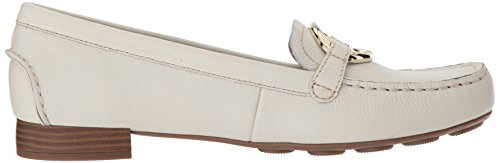 Anne Klein Donne Harmonie Loafer In Pelle Bianca