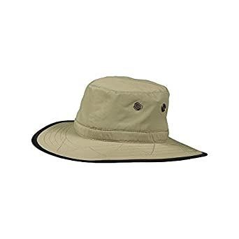 4a0c6389 Dorfman Pacific Co. Men's Dimensional Brim Boonie, Fossil, Small/Medium. DPC  Outdoor Design