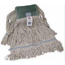 UPC 072627974125, O Cedar Commercial Medium White Cotton Looped End Mop Head -- 3 per case.