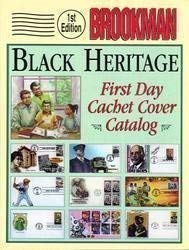 Cachet Cover - Brookman Black Heritage First Day Cachet Cover Catalog