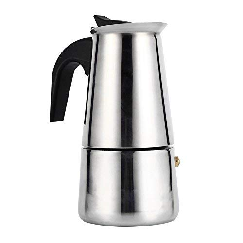 AiCheaX Cafetera, Olla de café Moka de Acero Inoxidable ...