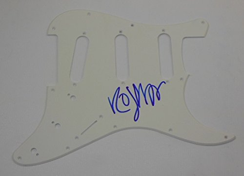 The Cure Wish Robert Smith Signed Autographed Fender Electric Guitar Pickguard Loa