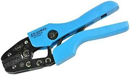 ケーブルカッター 0.5〜4mm²圧着ペンチ ワイヤエンドフェルール用 ラチェットクリンパプライヤー ハンド圧着工具 手動ケーブルカッター