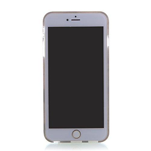 """RE:CRON® iPhone 6 Plus (5,5"""") Handy Motiv Schutzhülle Case Cover – Schädel"""
