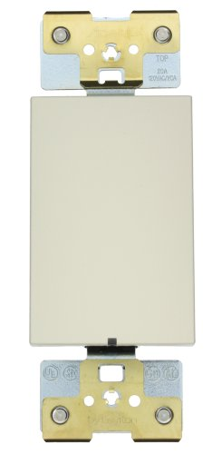 Leviton AC203-7LS 20 Amp, 277 Volt, 3-Way, Acenti Switch, LED Locator Light, ()