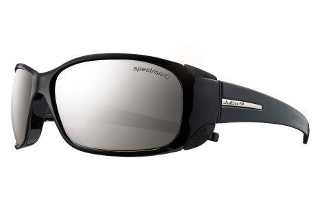 Julbo Montebianco Mountain Sunglass, Spectron 4 Lens, Black/Black