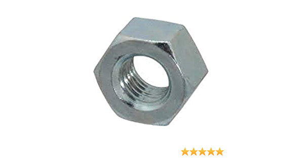 Small Parts FSC8FHNSZ Low-Strength Steel Hex Nut Pack of 100 8-36 Thread Size Zinc Plated Fastcom Supply 8-36 Thread Size Pack of 100