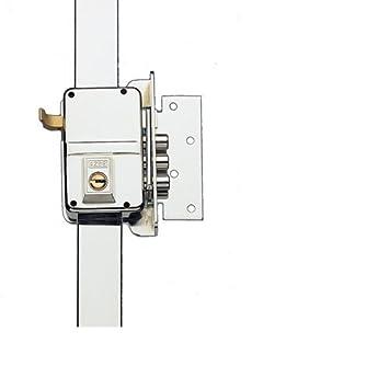 Yale 9HS340DHN Cerradura de Sobreponer, 9. A Mano Derecha Entrada 40 mm / Izda Hierro Niquelado: Amazon.es: Bricolaje y herramientas