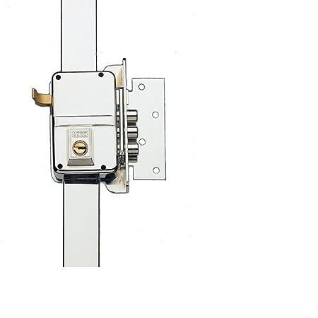 7 Dcha Hierro Niquelado Yale 7DHN Cerradura de Sobreponer A Mano Derecha  Entrada 60 mm