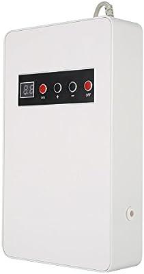 Ionizador Purificador Aire, Generador de Ozono, de Abs 220V, 50Hz 15W Ionizador con Orificios Posteriores(BLANCO ...