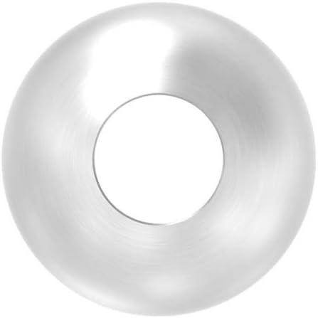 con foro passante da 10,2 mm. /Ø 25 mm Sfera in acciaio inox massiccio