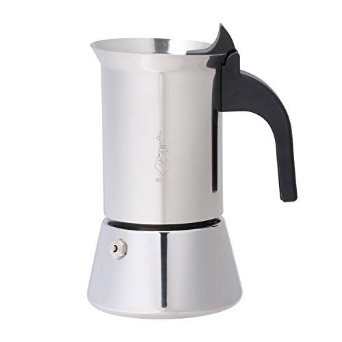 Bialetti Elegance Venus Induction 4 Cup Stainless Steel Espresso ()