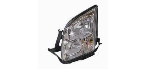 OE Replacement Ford Fusion Driver Side Headlight Assembly Composite (Partslink Number FO2502219) ()