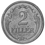 1926 Hungarian 2 Filler