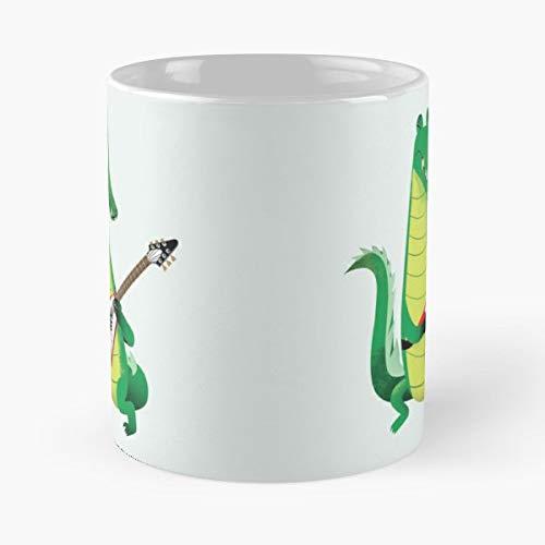 Crocodile Alligator Reptile - Coffee Mugs Ceramic