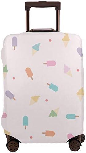 スーツケースカバー キャリーカバー ラゲッジカバー 伸縮素材 保護 盗難防止 防塵 かわいい カバー キズから保護 洗える おしゃれ かわいい 人気 旅行 海外 便利 ジッパー