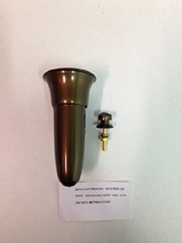 Royal Dutchess Crypt/Mausoleum/Niche Flower Vase - 7.75 in Button Support